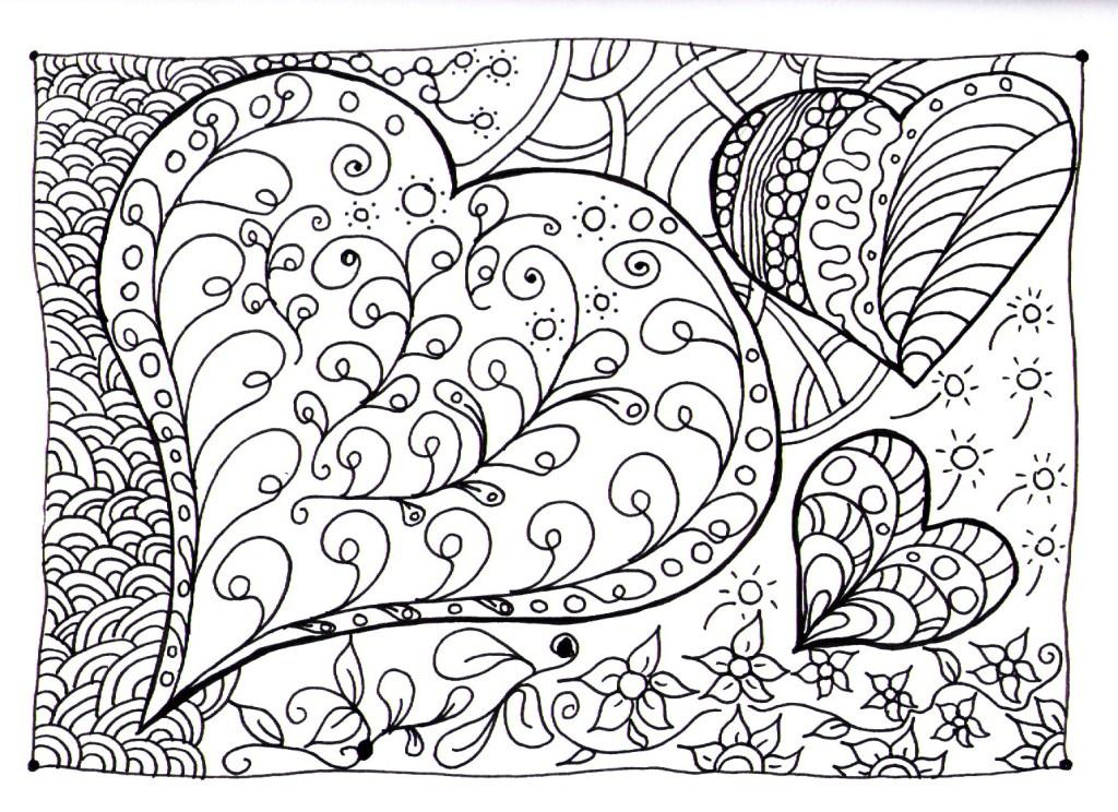 Free Coloring Pages Zen : Free coloring pages of zen doodle