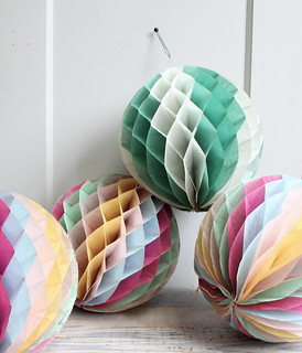 vintage  crepe paper decorations | by ethanollie