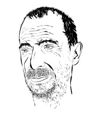 Pepe 2. Adobe Illustrator. 2012. by Drew Ferrie