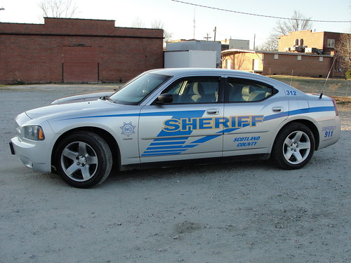 Scotland Co Sheriff, NC Dodge Charger | by Staff@SCPoliceCruisers.com
