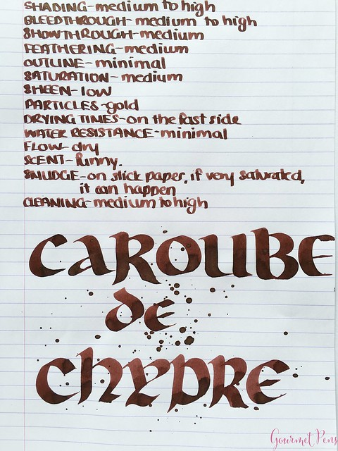 Ink Shot Review J. Herbin 1670 Caroube de Chypre @BureauDirect3717_WM