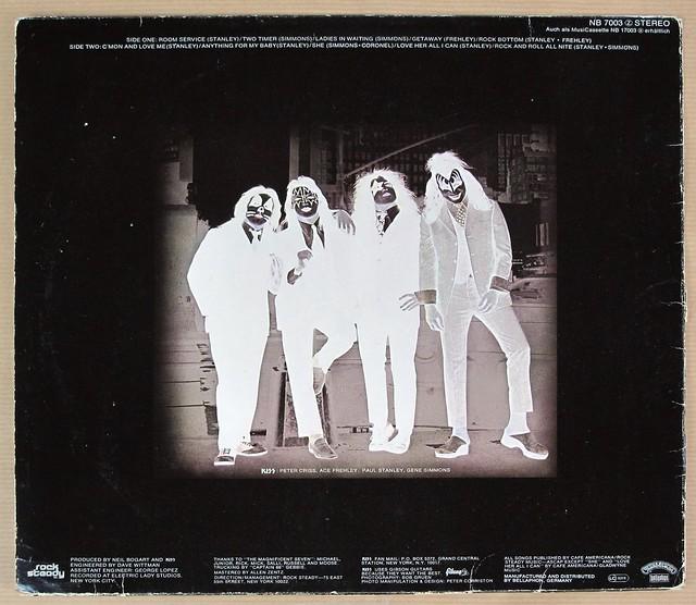 """KISS DRESSED TO KILL 12"""" LP VINYL"""