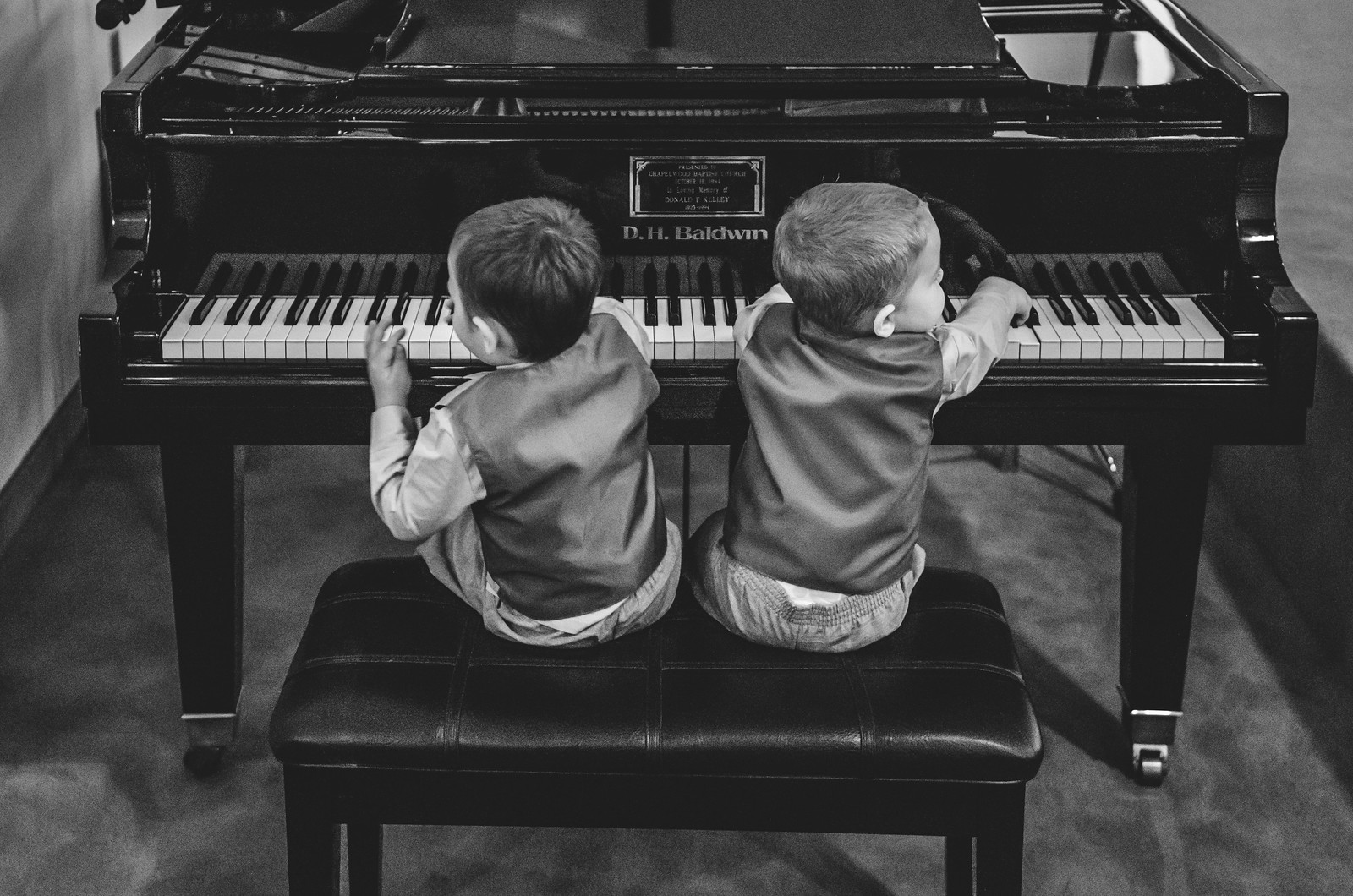 Boys at the Piano