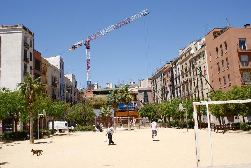 Au nord de la Ribera à Barcelone dans la partie la plus populaire du quartier.