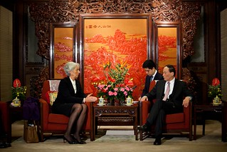 Meeting with Wang Qishan, Vice Premier on March 17 | by International Monetary Fund
