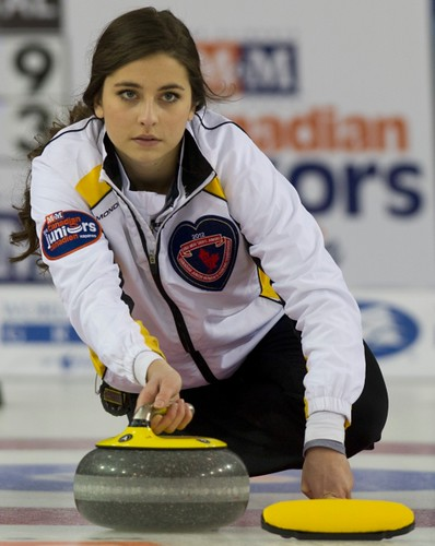 Napanee, ON Feb 11 2011 M&M Canadian Juniors MB Skip Shannon Birchard. Michael Burns Photo Ltd. | by seasonofchampions