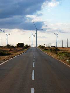 Wind park near the village of Bulgarevo | by World Bank Photo Collection