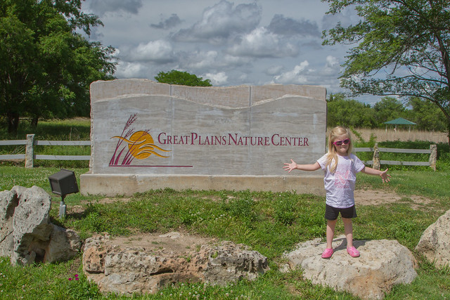 McKenna Great Plains Nature Center Sign