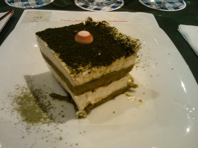 Tiramisú a la Japonesa - Cocina Japonesa con Maridaje Mediterráneo - Bodegón de Carlos - Vila-real