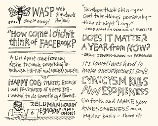 SXSW 2012 Sketchnotes: 19-20 Go Forth and Make Awesomeness! | by Mike Rohde