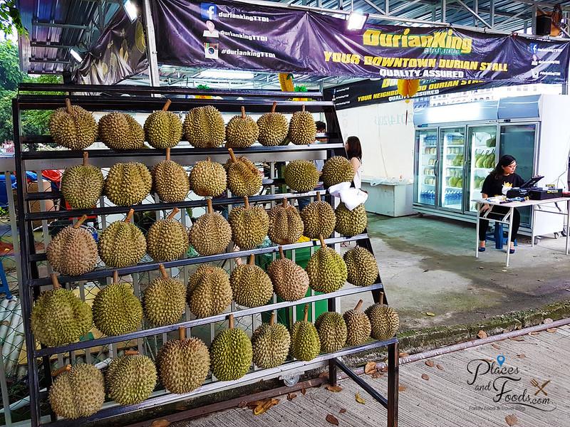 durian king ttdi bukit bintang stall