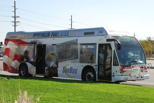 SunLine Fuel Cell Bus | by So Cal Metro