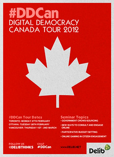 Delib Canada 2012 poster v1 | by thequiggler