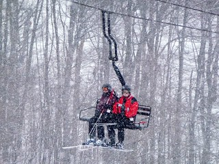 Snow coming down hard - 2.18.12 | by BOYNE_Michigan