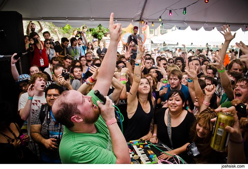 Dan Deacon Ensemble @ SXSW 2012 | by joshsisk
