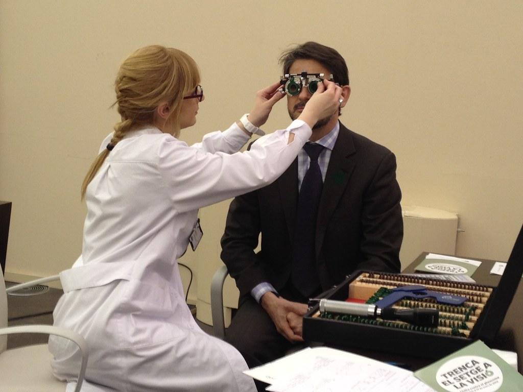Oriol Pujol. Campanya contra el glaucoma