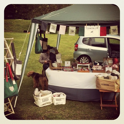 Our stall at #barkintheparkbrighton in lovely sunshine a little wind :) | by Edwyn UK