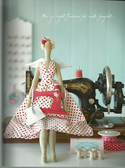 Tilda costureira - FELIZ dia da COSTUREIRA 25/05 by Joana Teo - Artesanato & Patchwork