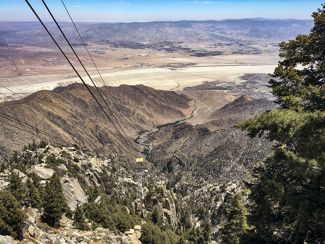 View from the Palm Springs Aerial Tram