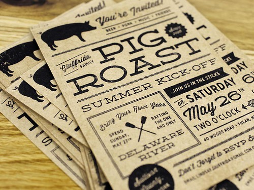 Pig Roast Invite 2012 | by McMillianCo
