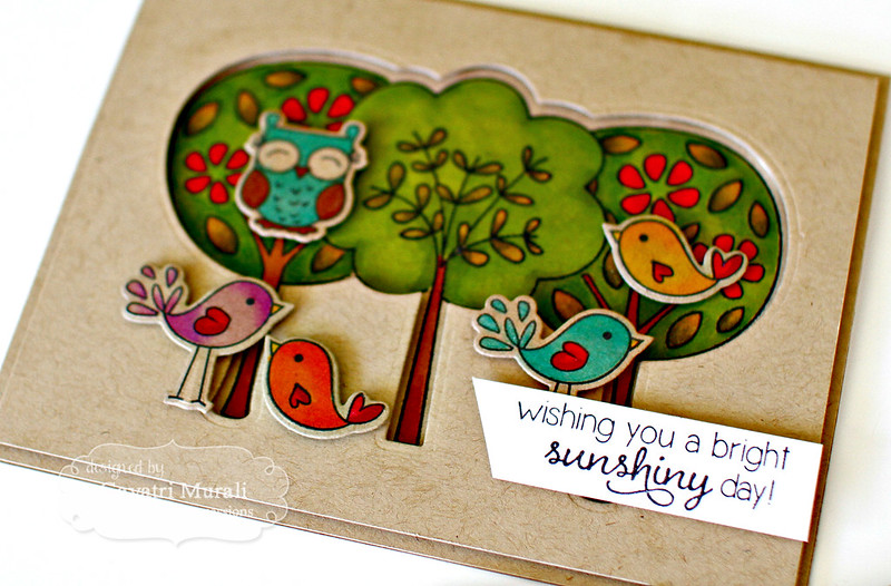 Wishing you a bright sunshiny day #3 by Gayatri Murali