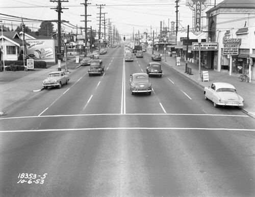 76th and Aurora, 1953 | by Seattle Municipal Archives
