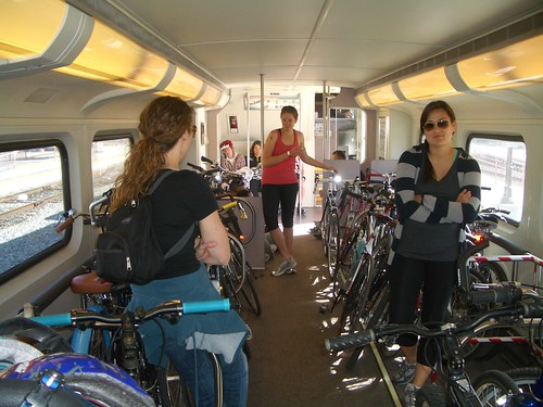 Back to San Bernardino from CicLAvia on the Metrolink | by ubrayj02