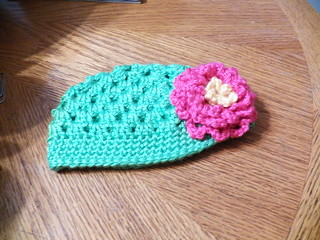 Baby Flower Hat | by Crochet Attic