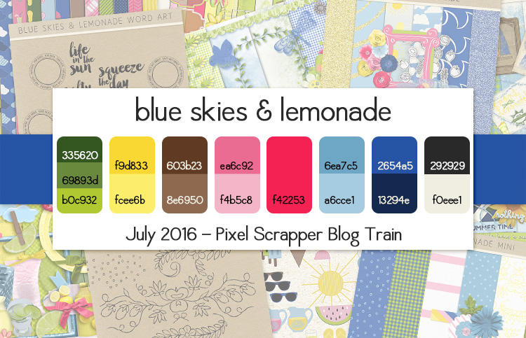 blog train palette and previews