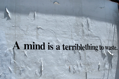 Mind is a Terrible Thing to Waste | by AmyKClark!
