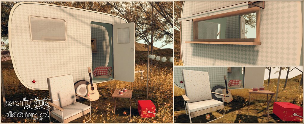 Serenity Style- Cute Camping Advert