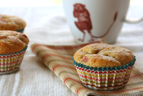 rhubarb muffins 4 | by crumblycookie