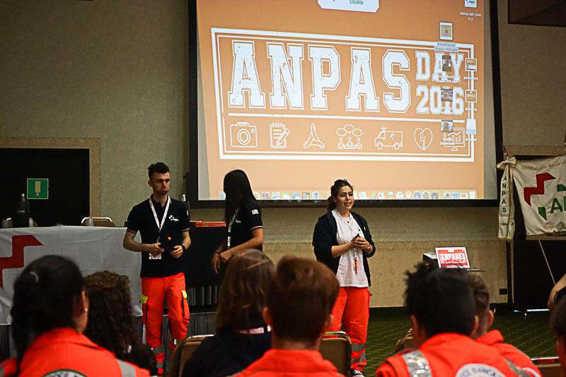 I giovani di Anpas Liguria all'Anpas Day 2016