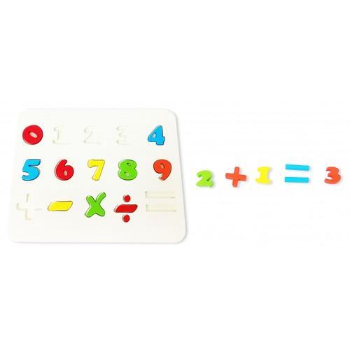 Đồ chơi gỗ - dạy làm toán -  Bảng số
