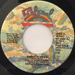 RAFAEL CAMERON:SHAKE IT DOWN(LABEL SIDE-B)
