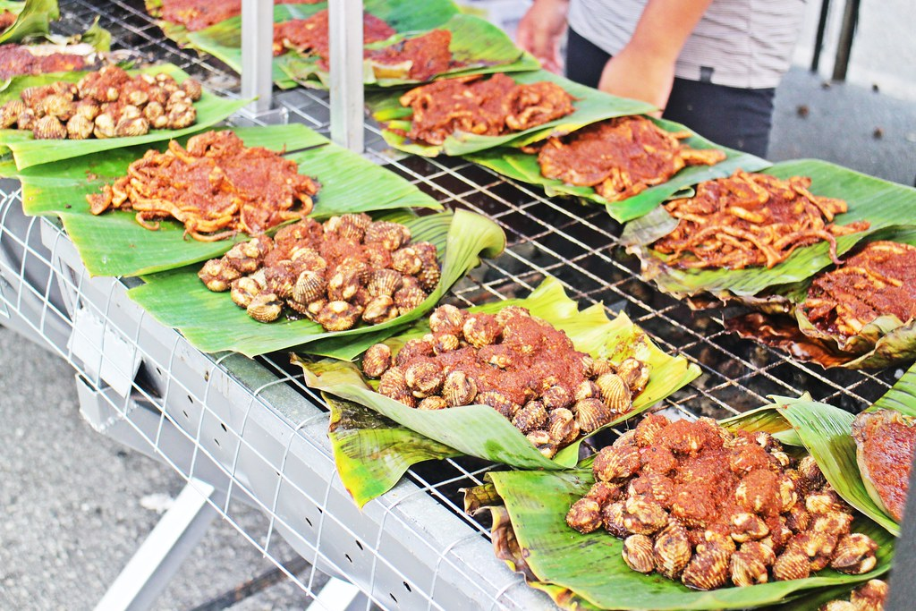 Ramadhan Bazaar: Grilled Sambal Seafoods