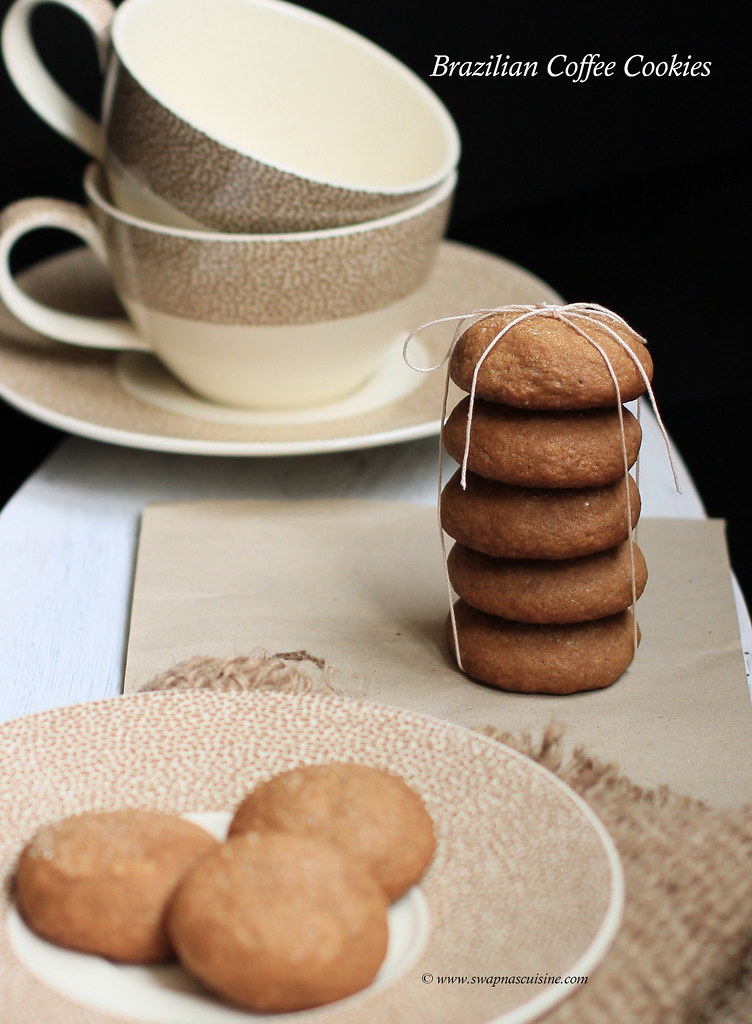 Recipe for coffee cookies