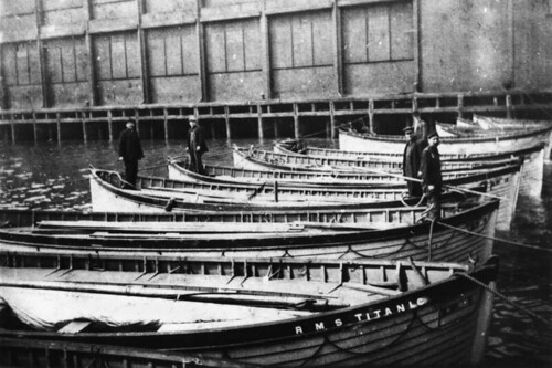 Rescued lifeboats from the Titanic | by State Library of Queensland, Australia