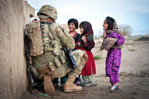 Afghan children | by The U.S. Army