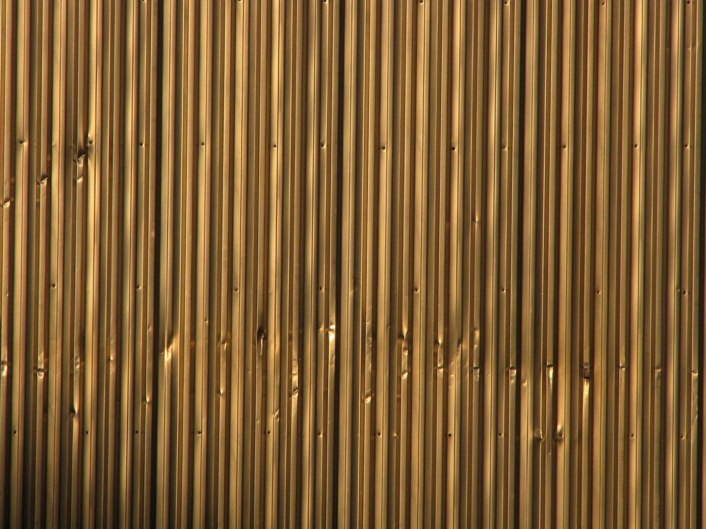 Metal Wall Texture Metal Shed Wall With Dents