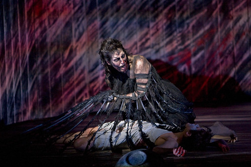 Amanda Echalaz as Ker in The Minotaur © Bill Cooper/ROH 2008 | by Royal Opera House Covent Garden