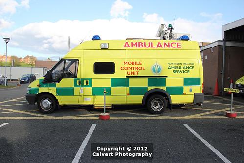 nias ambulance ford transit mobile control unit flickr. Black Bedroom Furniture Sets. Home Design Ideas