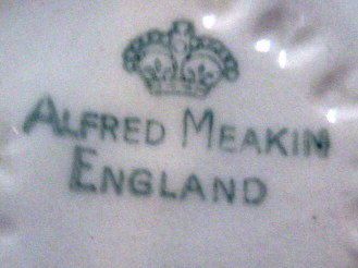 Dating alfred meakin marks