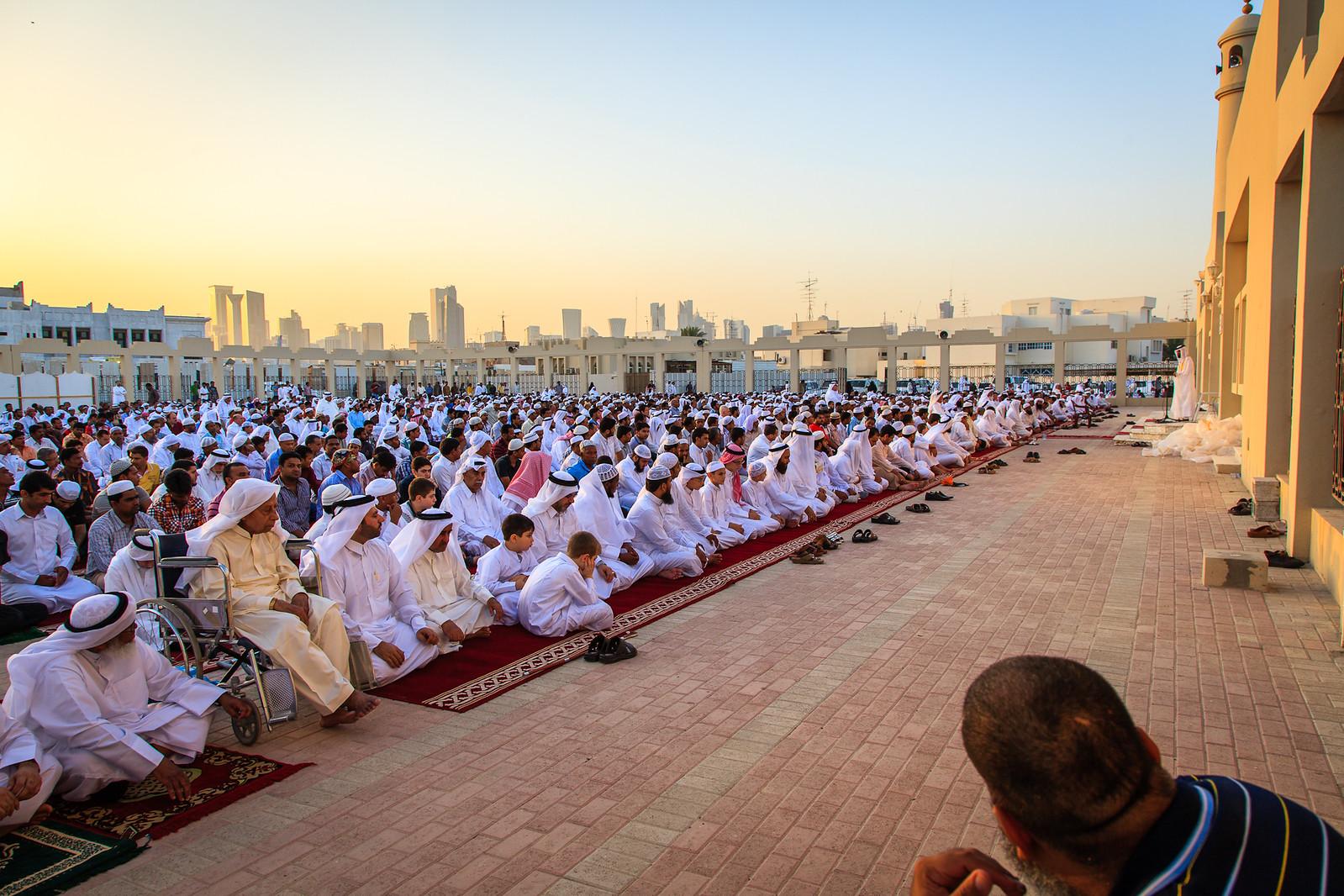 Congregating on Eid