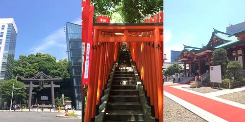 日枝神社、赤坂
