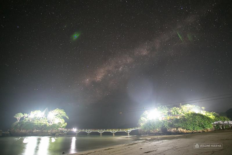Polusi Cahaya saat Foto Milkyway