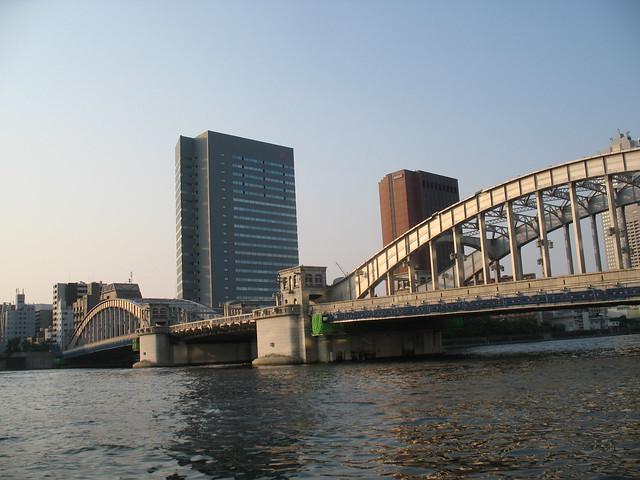 Tokyo, Bridge above Sumida River