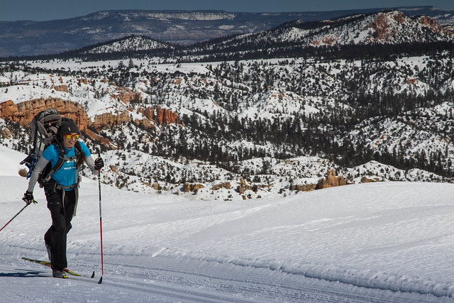 Bryce Canyon Cross Country Skiing