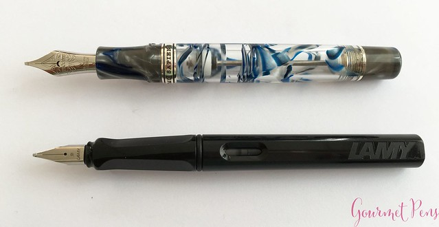 Review Visconti Homo Sapiens London Fog Fountain Pen @AppelboomLaren7