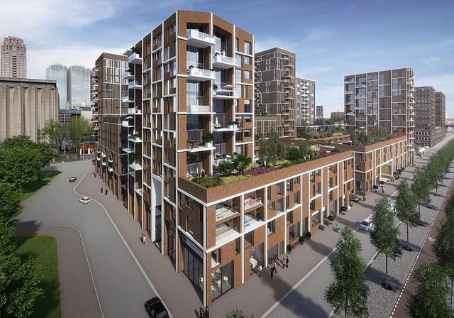 Nieuwbouwprojecten die starten in 2017 nieuwbouw for Nieuwbouw rotterdam huur